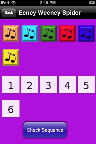 Screenshot iPuzzleKidsSongsFree